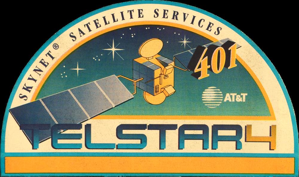 Telstar 401 Mission Logo