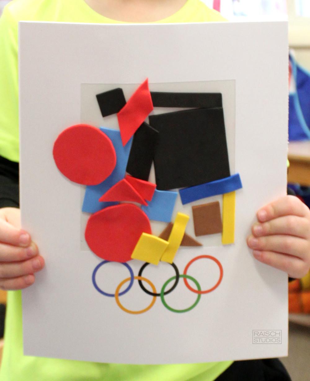Kyle, Olympic Logo, Age 4
