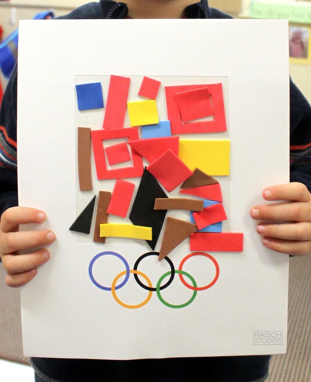 John, Olympic Logo, Age 3