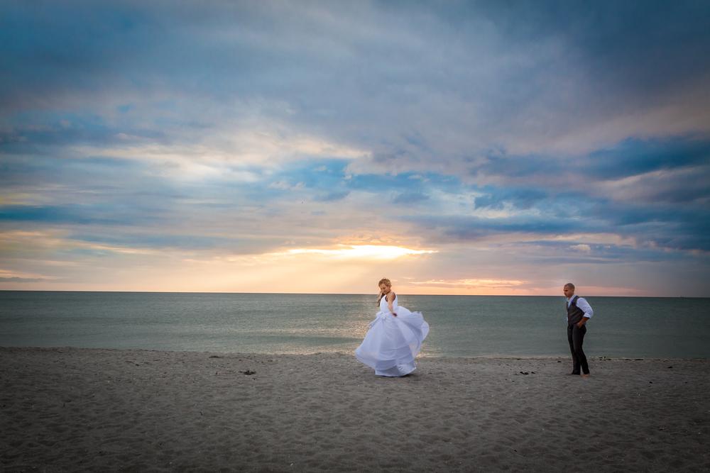 Beach Wedding on Captiva Island, FL