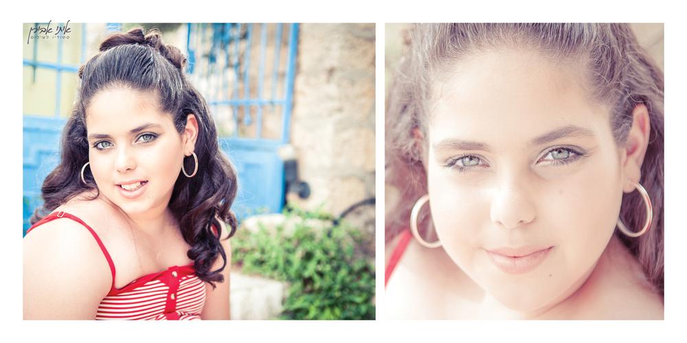 צילום בוק בת מצווה בחיפה צלם לבוק בת מצווה חיפה, סטודיו איתי אבירן