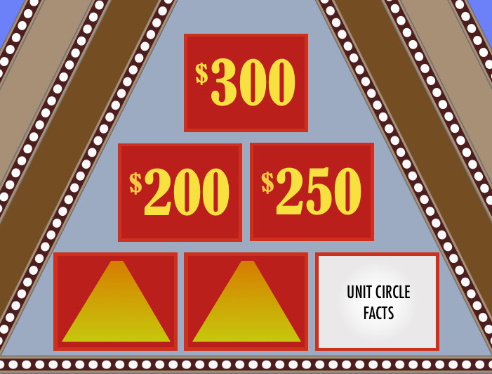 $10 000 pyramid game template