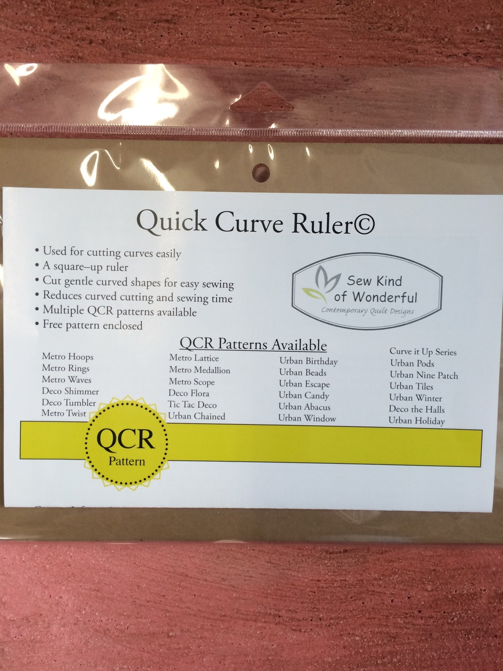The Quick Curve Ruler.