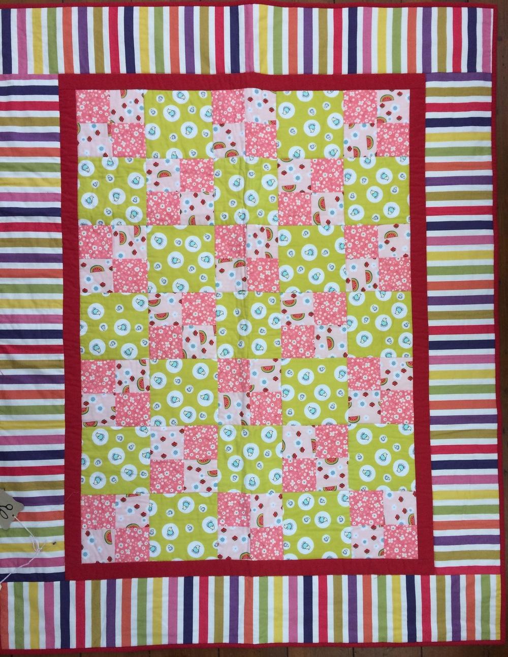 Hettie's Patch pattern, 'Four Patch Quilt'