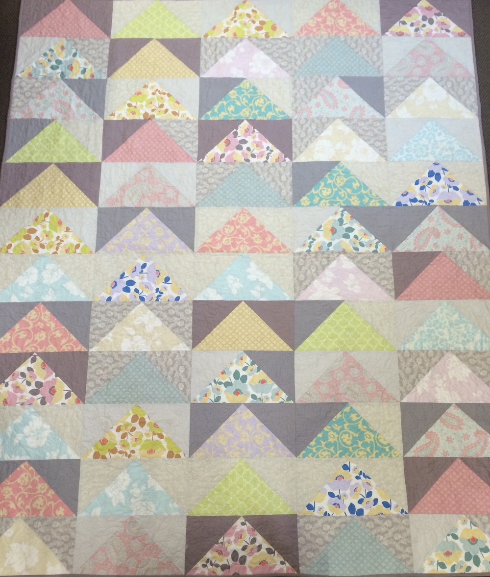 'The Fat Goose' quilt