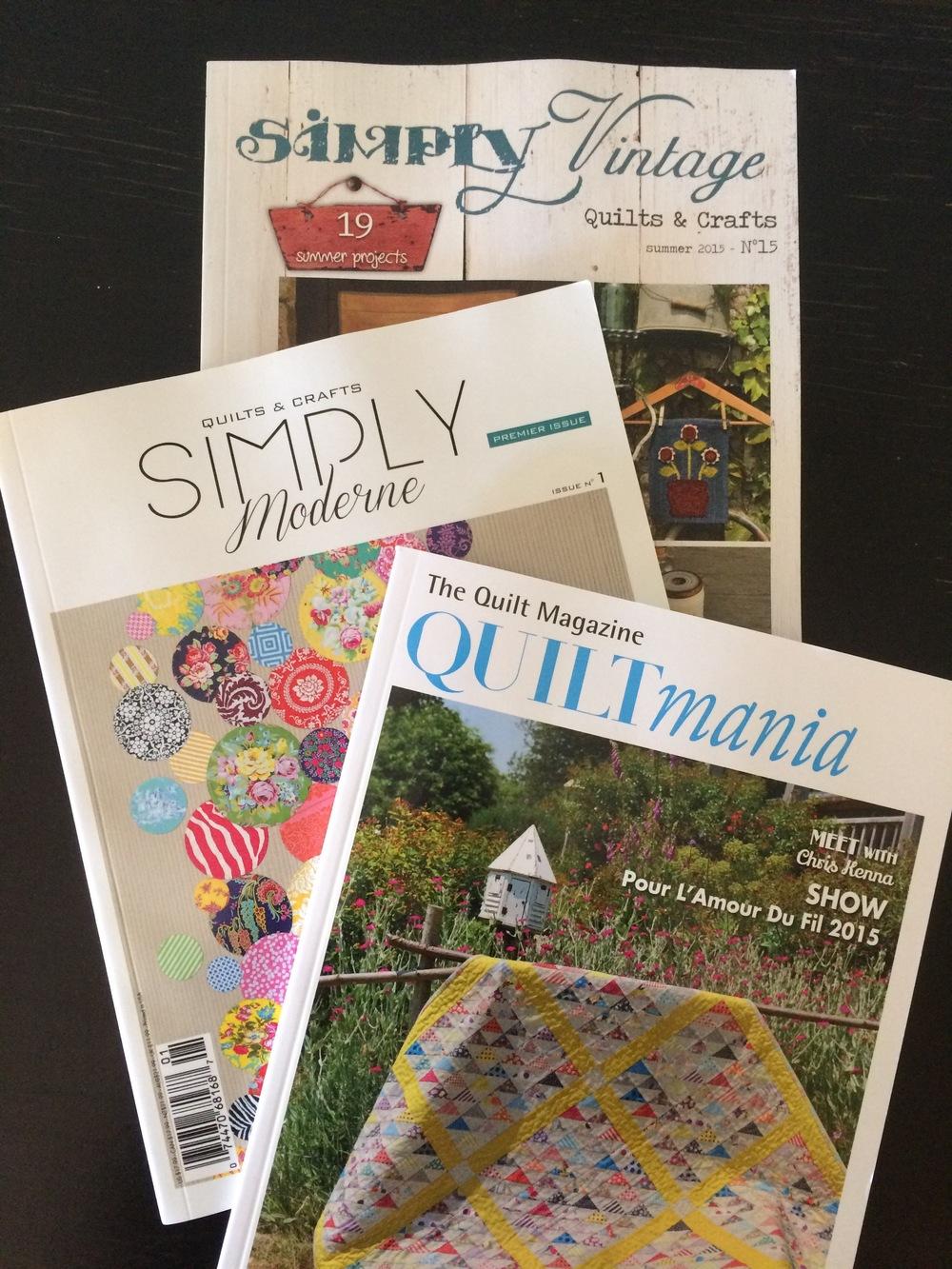 Quilt mania magazines