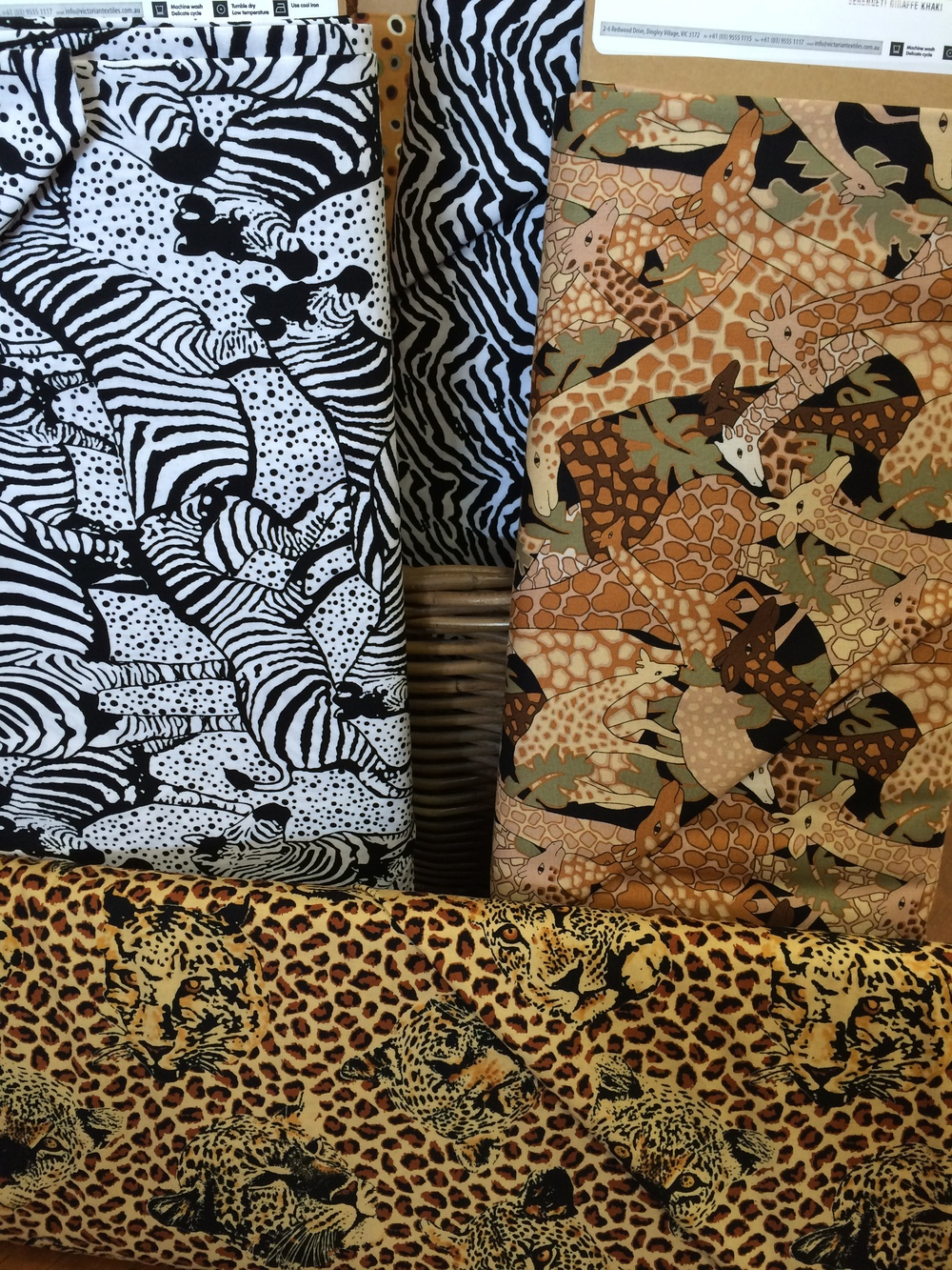 serengeti prints