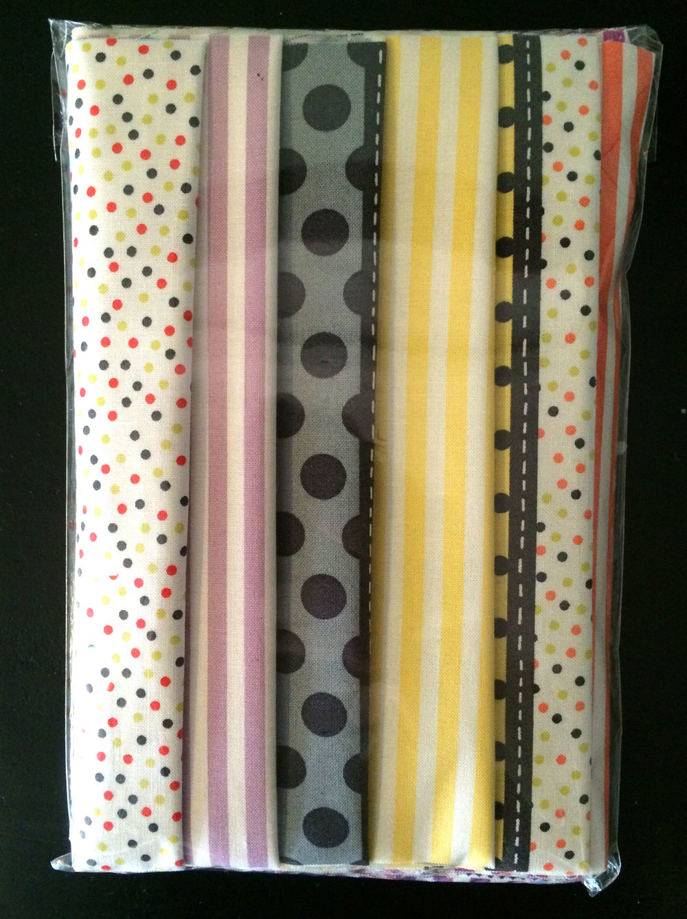 A pack of six 20cm strips