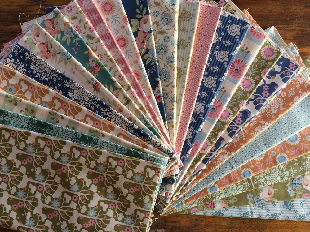 Tilda fat eighth pack from Spring Diaries & Pardon My Garden