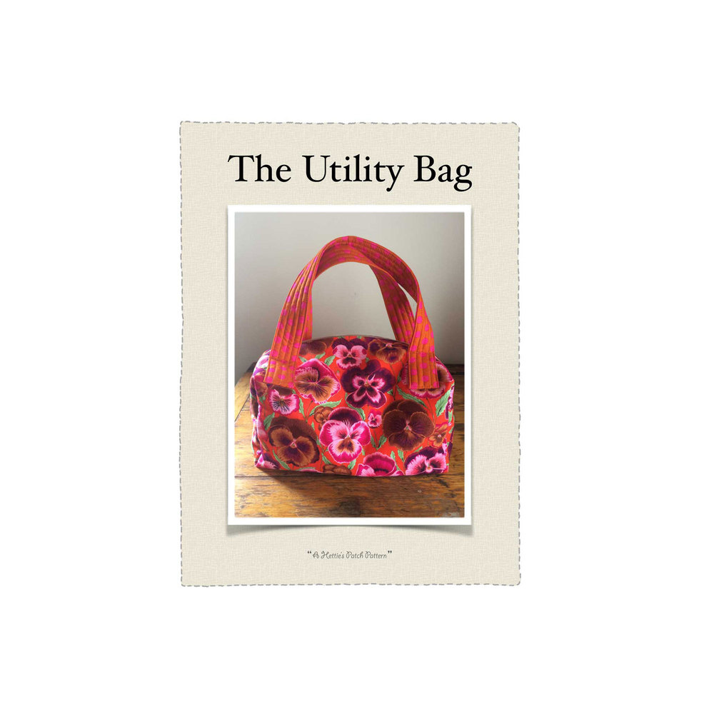 The Utility Bag is a Hettie's Patch pattern.