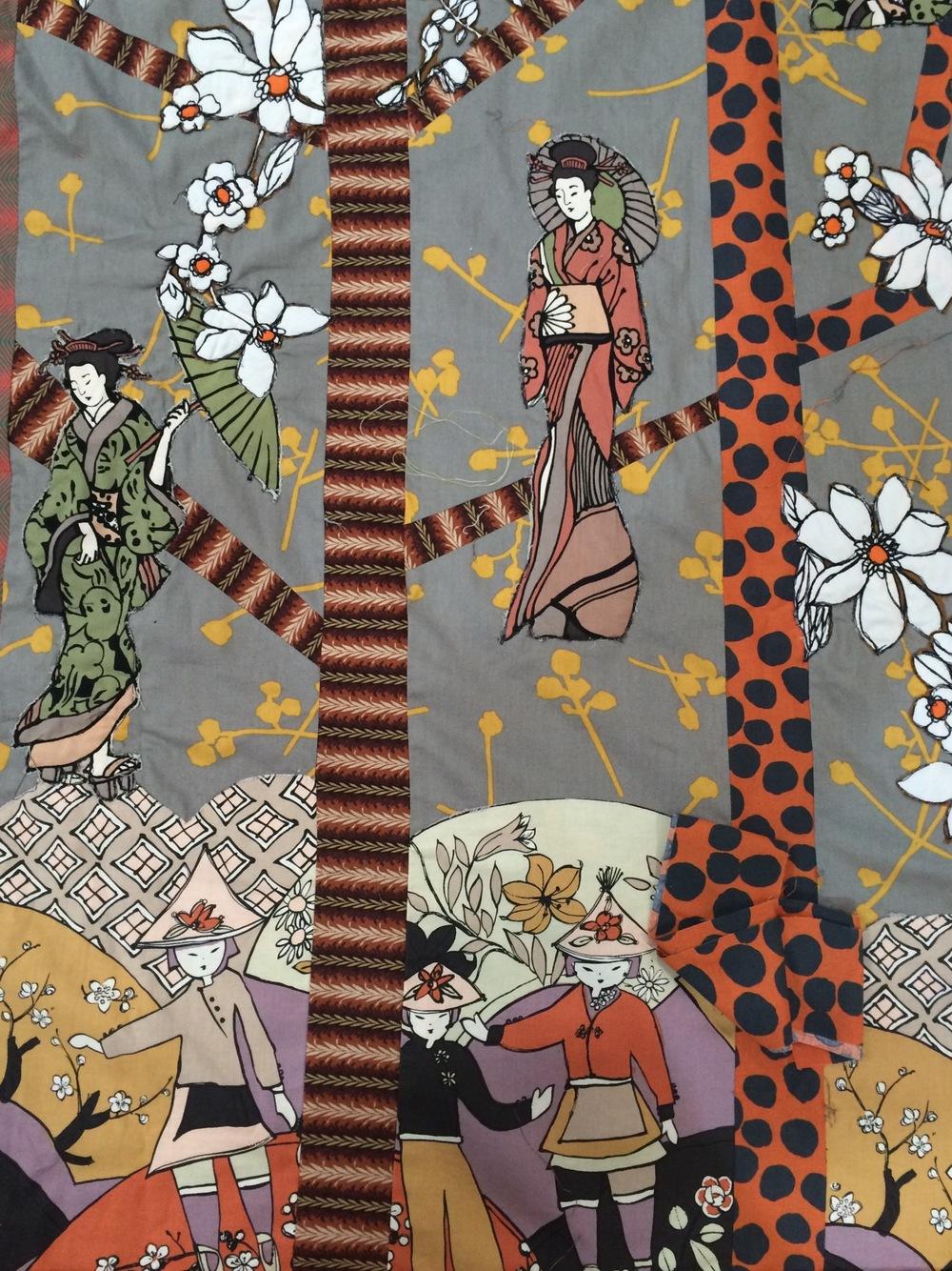 Helen's Japanese inspired creation.