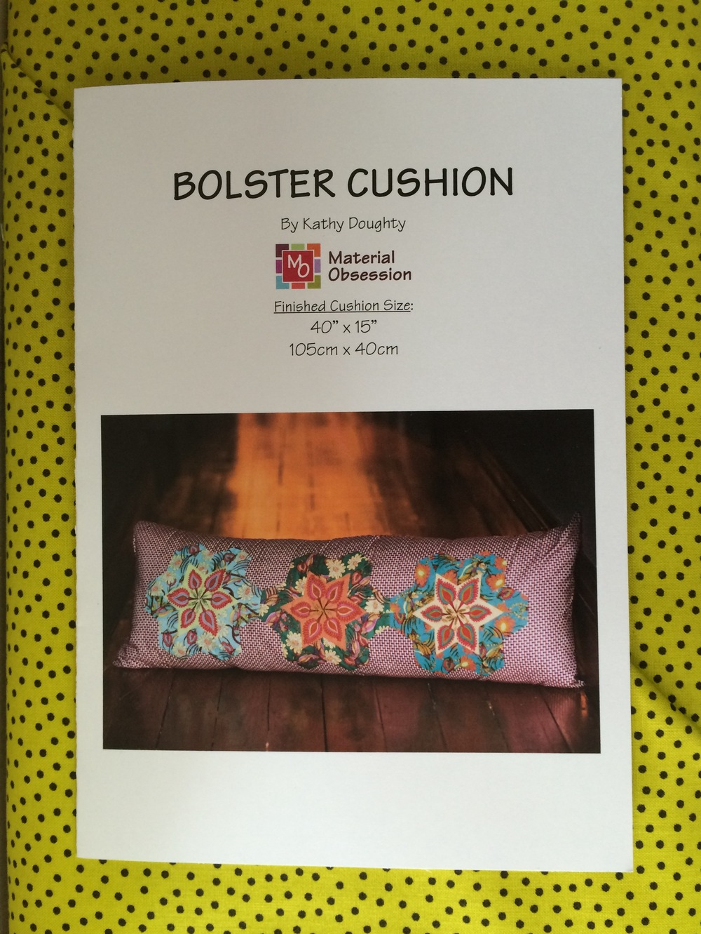 The Bolster Cushion pattern