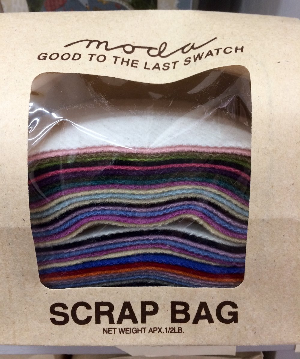 This bag seems to be more of the cooler colours.