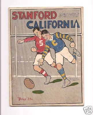 Stanford v Cal in 1914: when the Big Game was played under rugby union rules