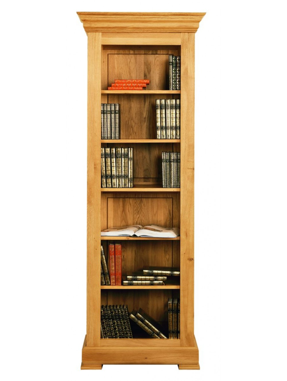 Narrow Open Fronted Bookcase 511270