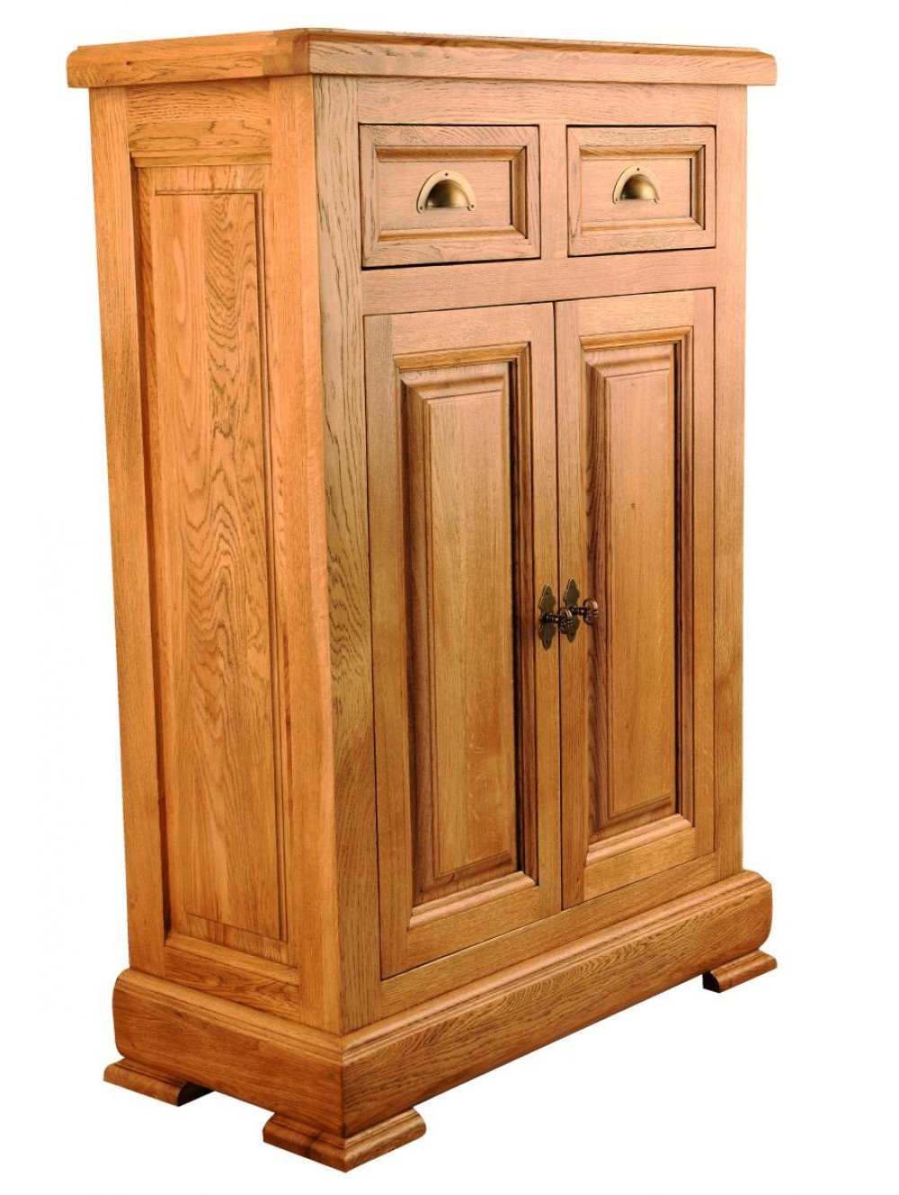 Low Hallway Cabinet with Solid Doors 511350