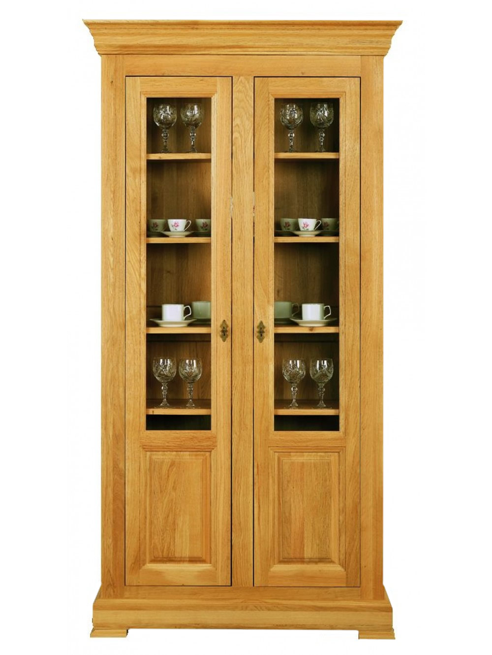 Two Door Glazed Cabinet 511301