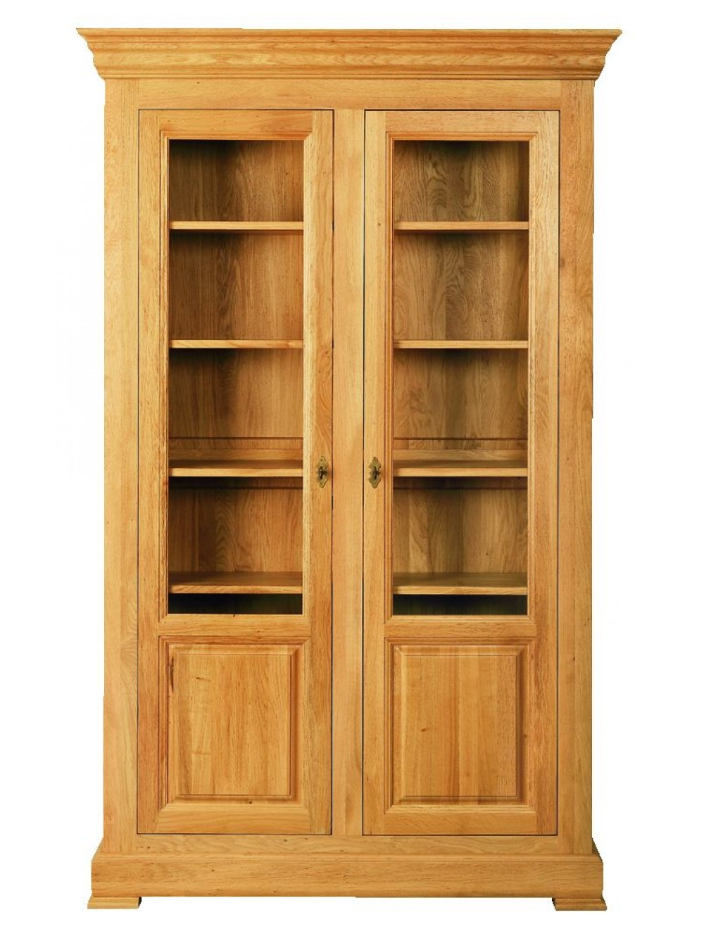 Two Door Glazed Bookcase 511300