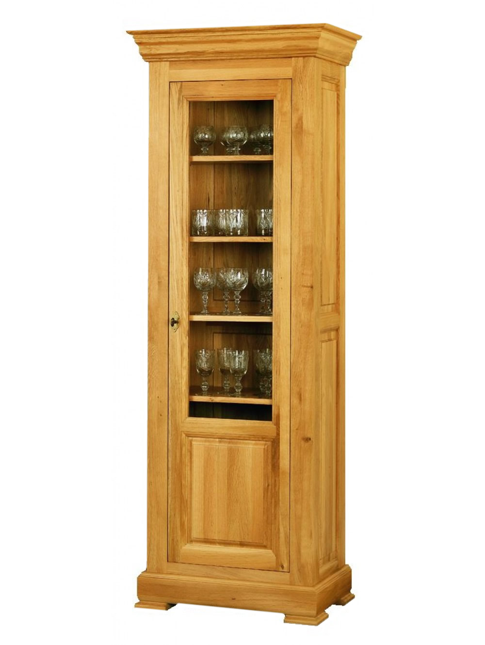Narrow Glazed Cabinet 511280