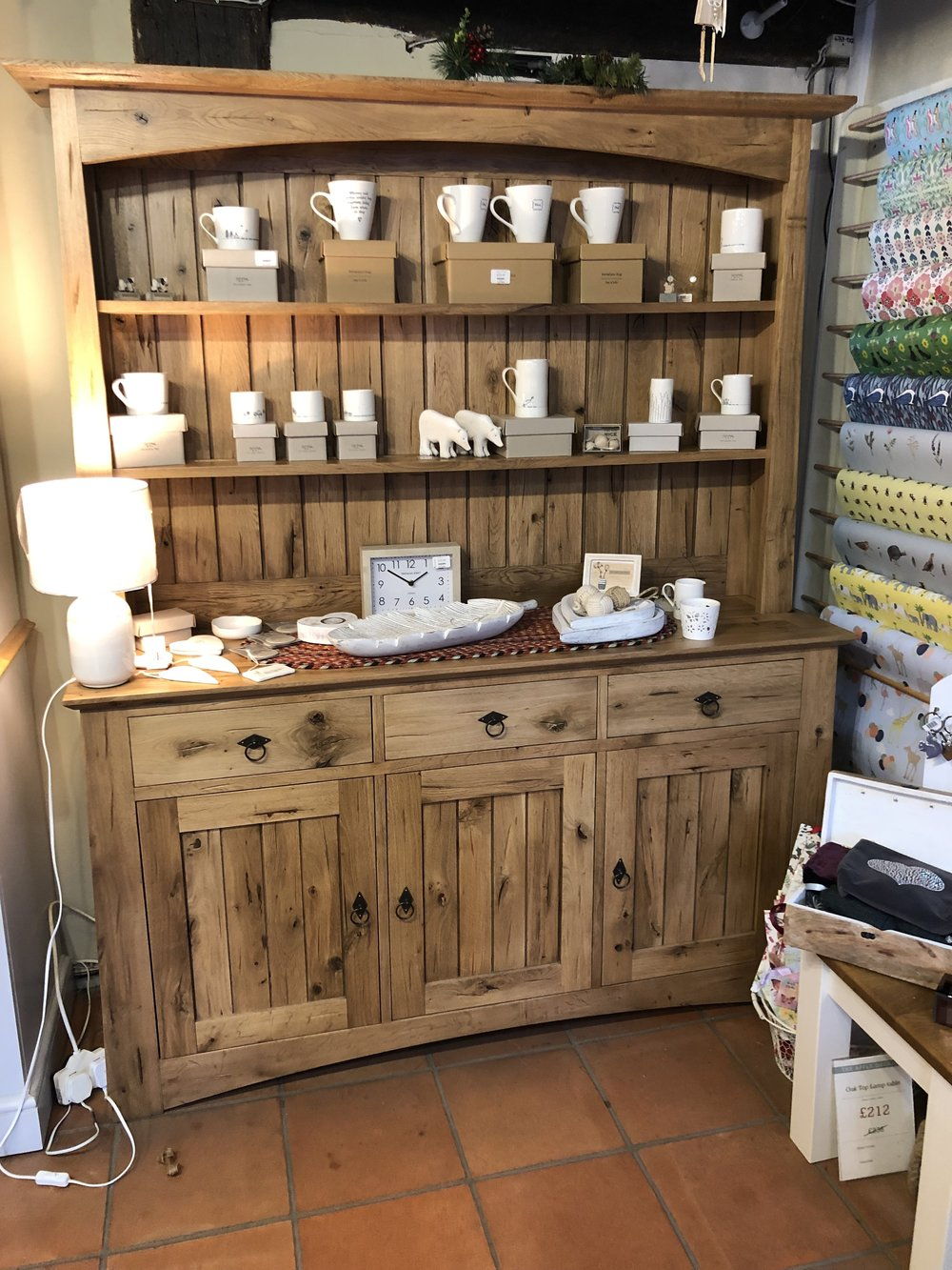 Solid Oak Dresser was £2,894 now £1,500