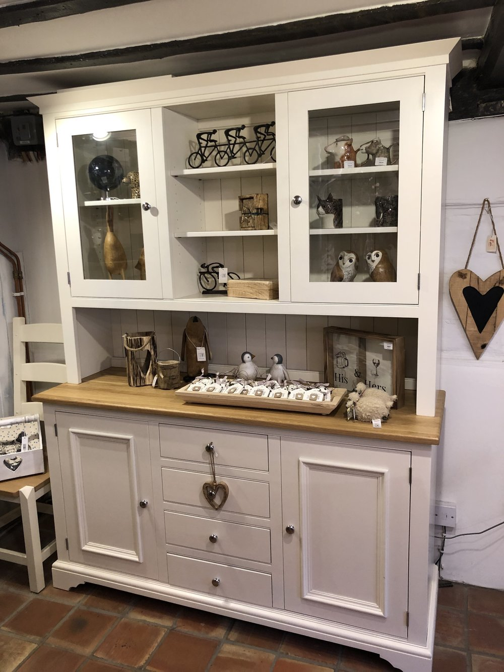 5ft Painted and Oak Dresser Now ONLY £1,690 WAS £2,405