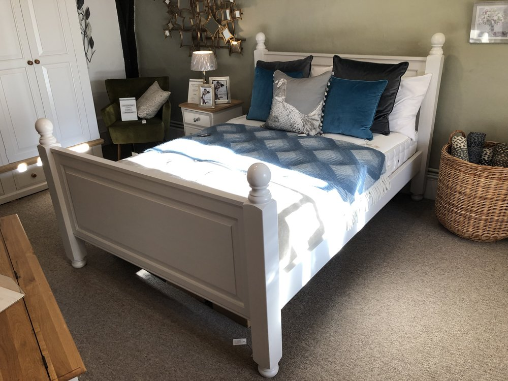 "Avebury 4'6"" Painted Bedframe Was £672 now £495"