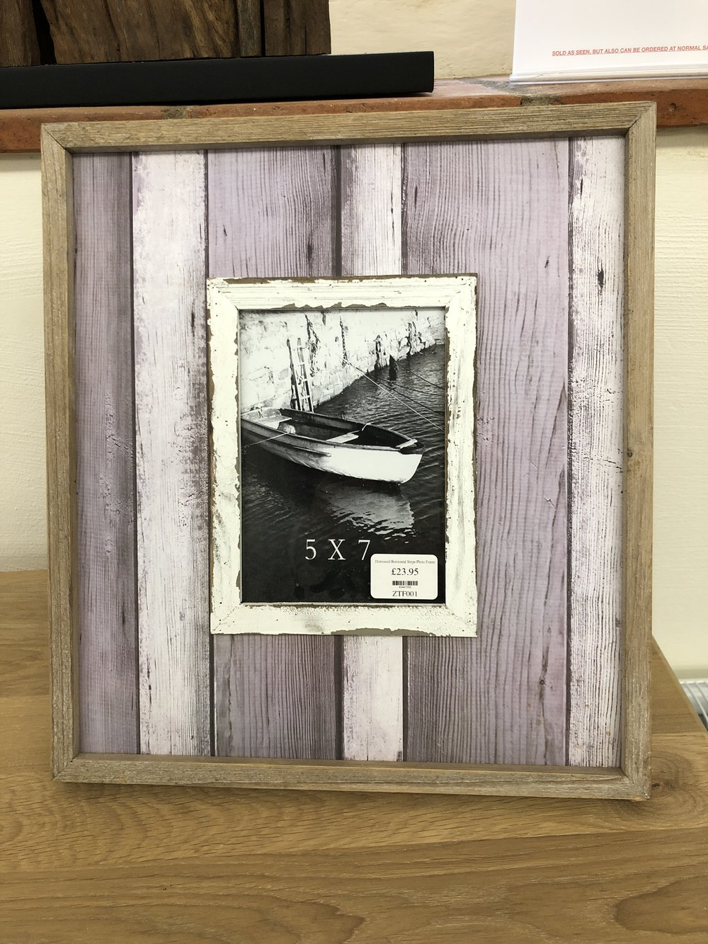 Seaside picture frame ref ZTF001 Now £16.76 Was £23.95