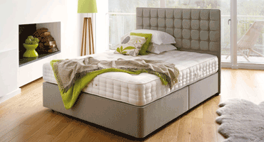 Solid through and through   The Orthos Support mattress is matched with a solid top, non-sprung divan, to give you an extra supportive firmer feel.