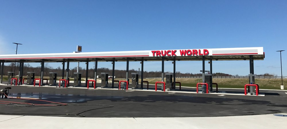 Truck World Bailey Road Fuel Islands