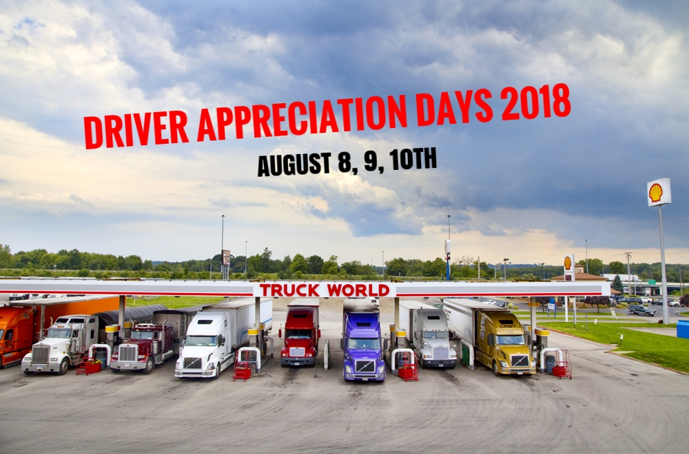 Driver Appreciation Days 2018
