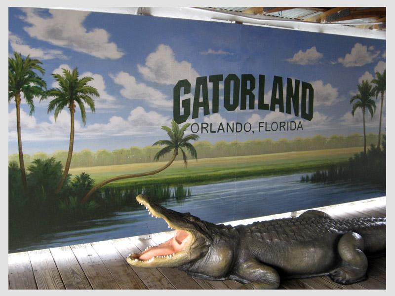 Gatorland Photo Op