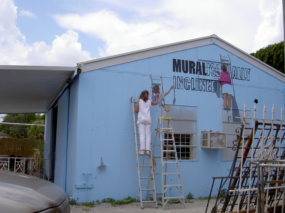 Alison Painting Alison