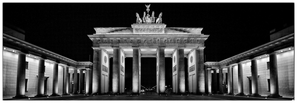 Brandenburg Gate, in Berlin, Germany