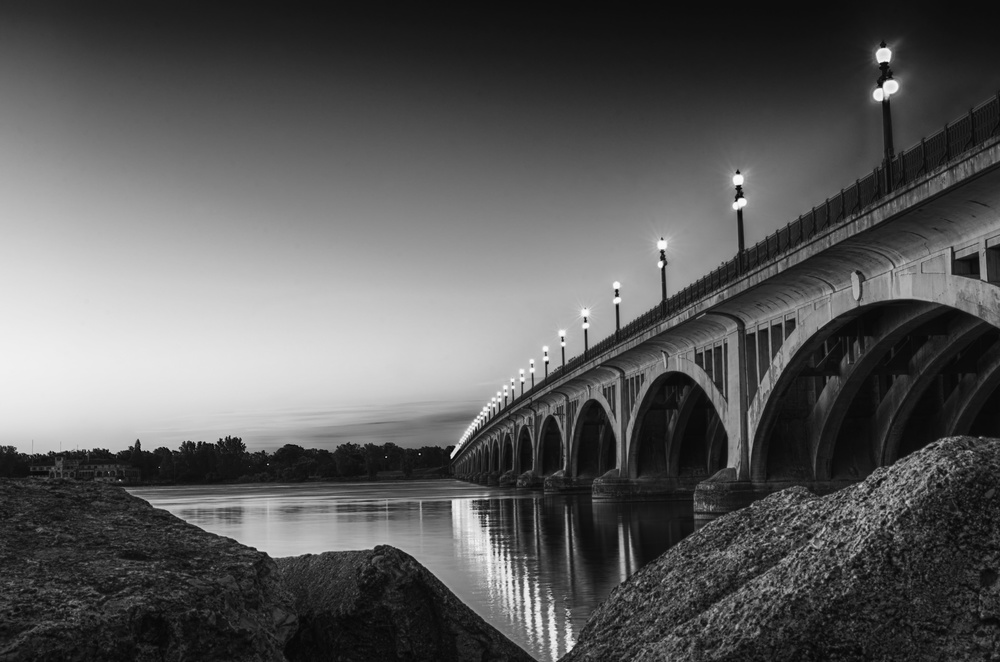 The Douglas MacArthur Bridge by Mike Boening