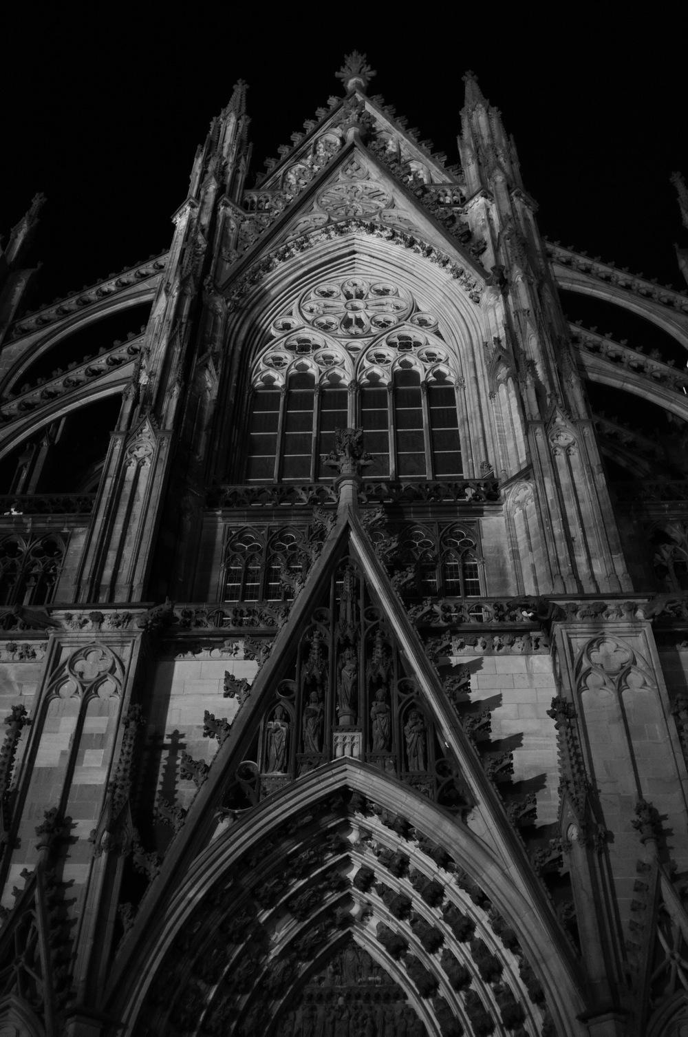 Kölner Dom,by Joseph Linaschke