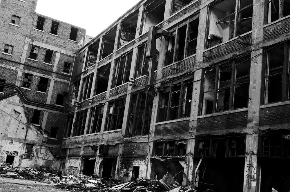 Packard Plant by Mike Boening