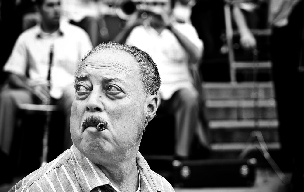 The Cigar Man by Bruce Clarke