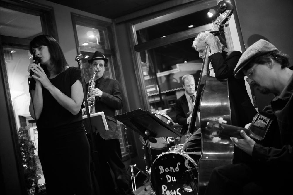 Band du Pays at Liquid Assetsby Joseph Linaschke