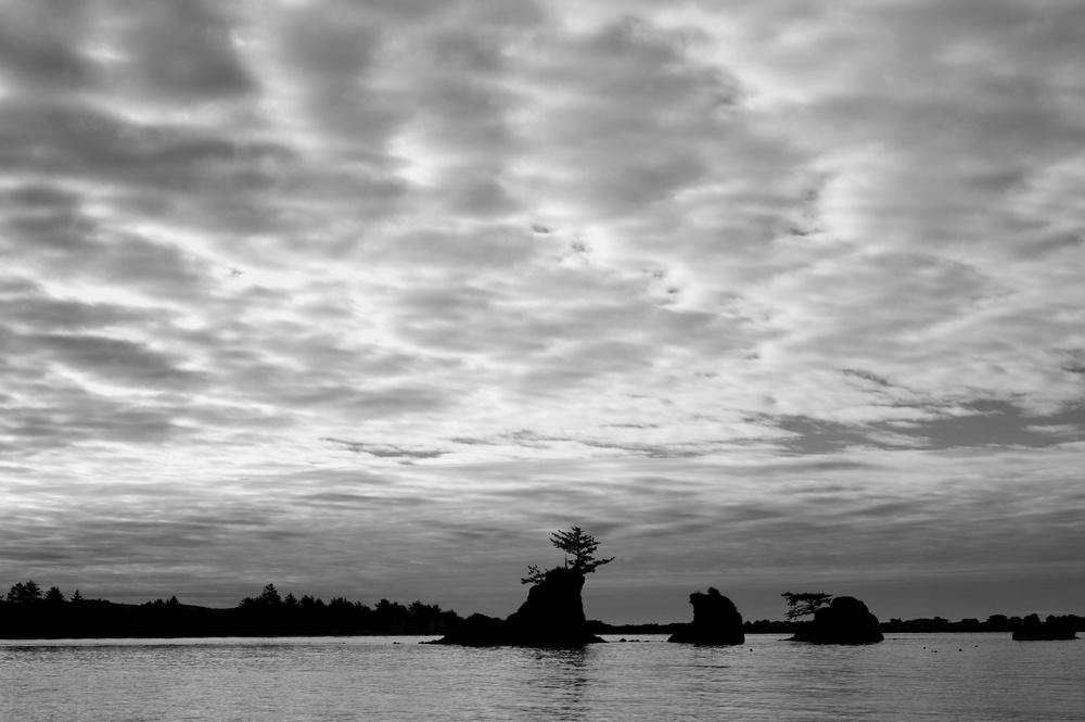 A Common View at Siletz Bay Park, Oregon by Joseph Linaschke