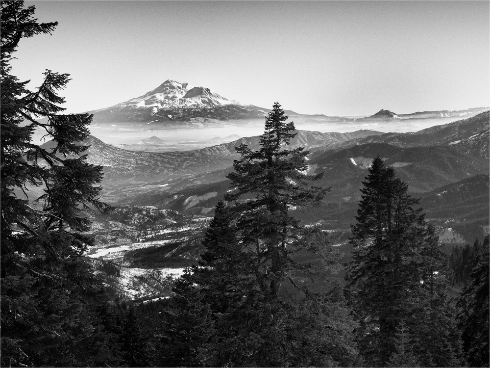 Mt. Shasta, as Seen from Mt. Ashland by Joseph Linaschke