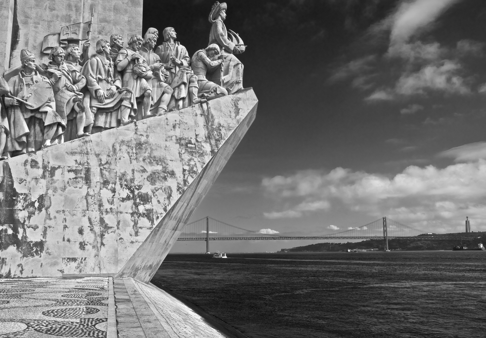 Monument To The Discoveries by Graham G Parker