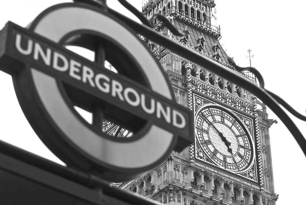 Underground Big Ben  by Graham G Parker