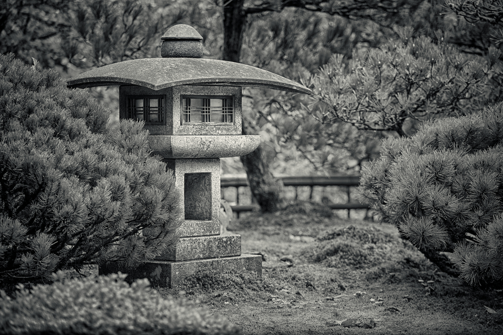 Japanese Garden. Portland, Oregon. Canon 5D Mk II + 70-200mm F4L @ 109mm F4, 1/60 sec. on a tripod  by Nick Nieto