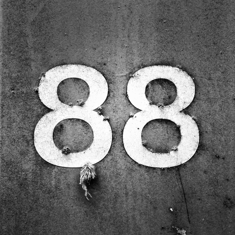 Crazy 8's - Found on the side of the road NE Portland, Oregon - iPhone 5 by Nick Nieto