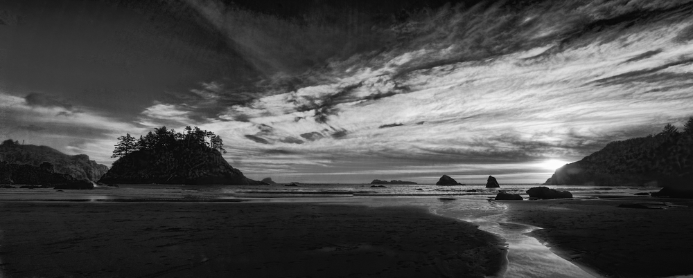 College Cove at Sunsetby Iain Harley