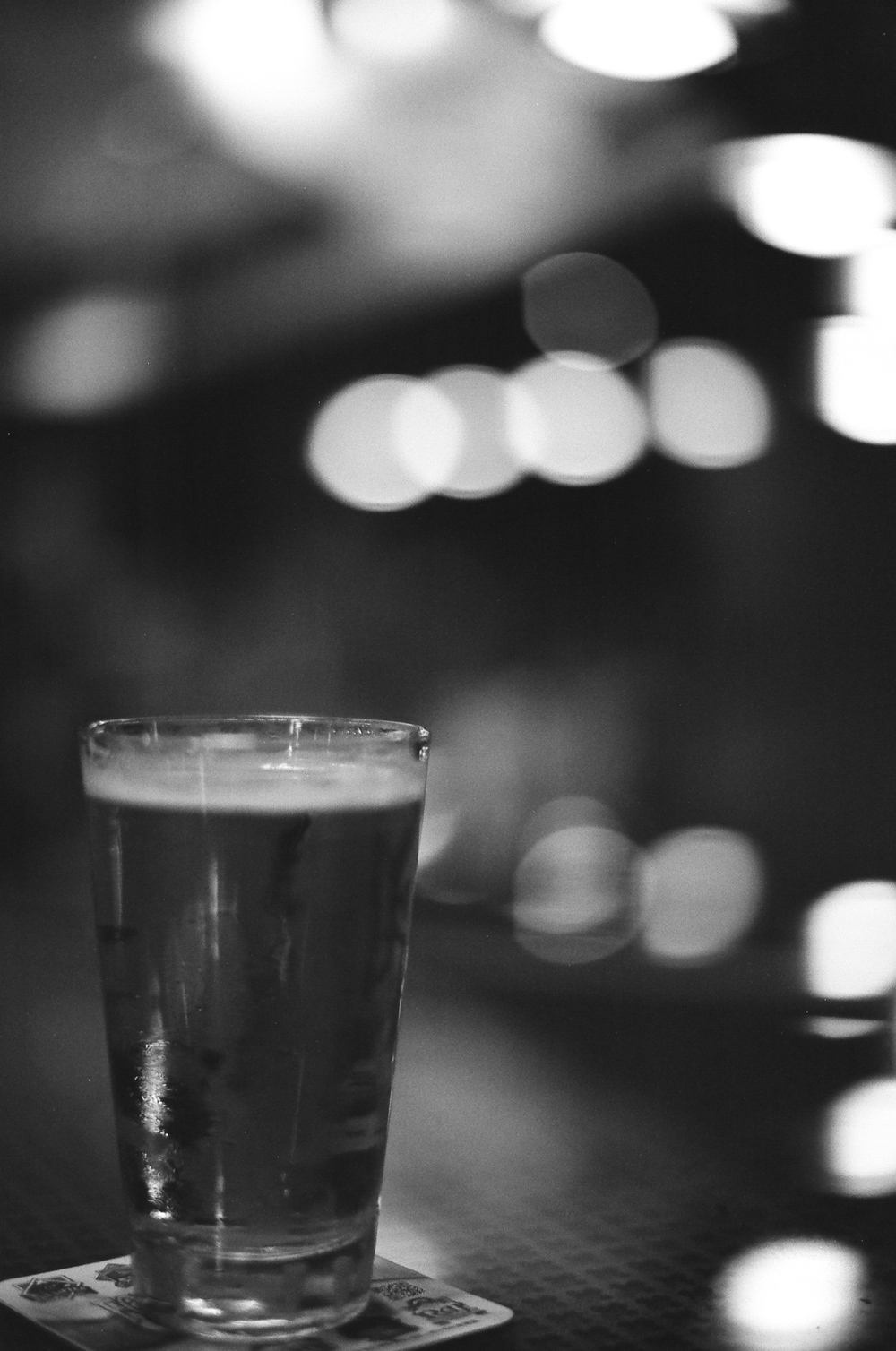 A Cold One by Rohan Gupte [Digital equivalent: ISO 100, f/1.2, 1/30]
