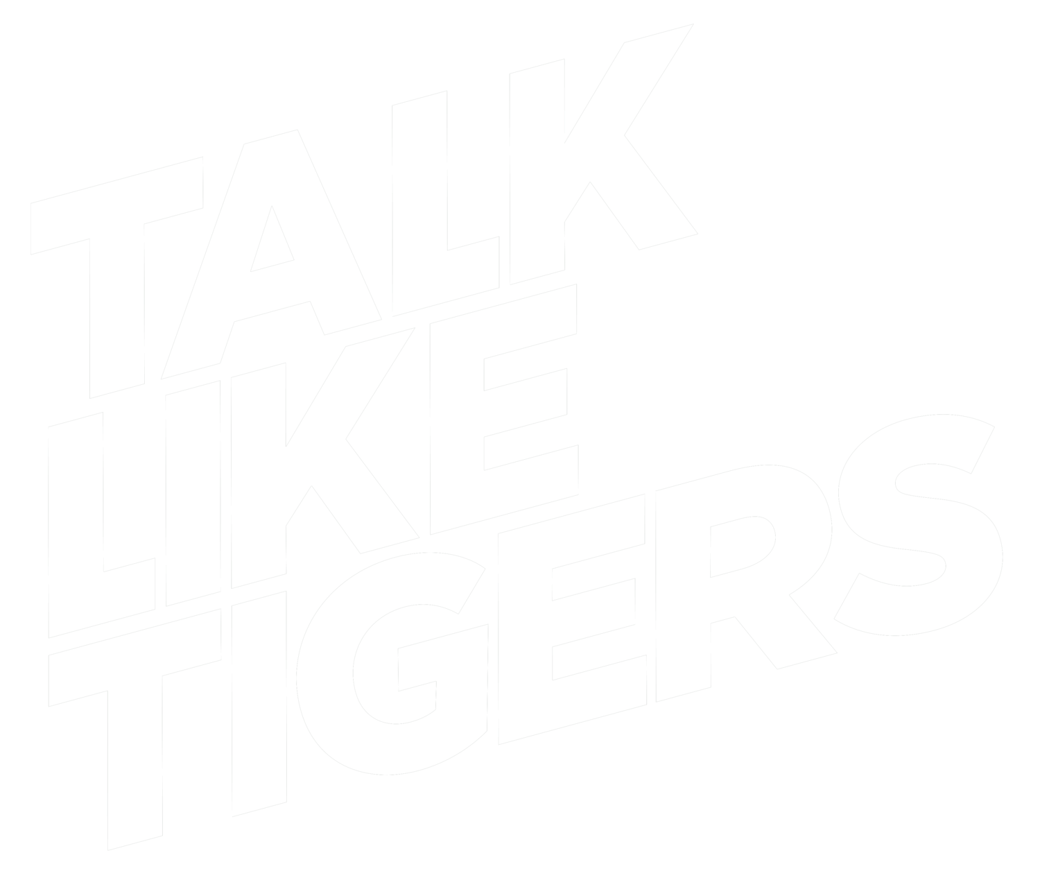TALK LIKE TIGERS