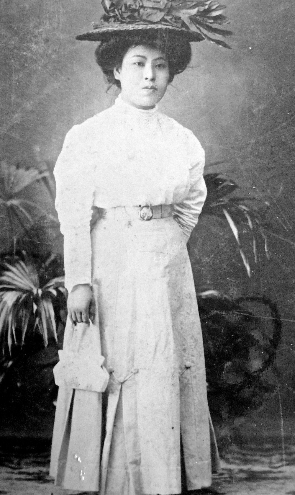 Haru Matsuda (b. 1892).