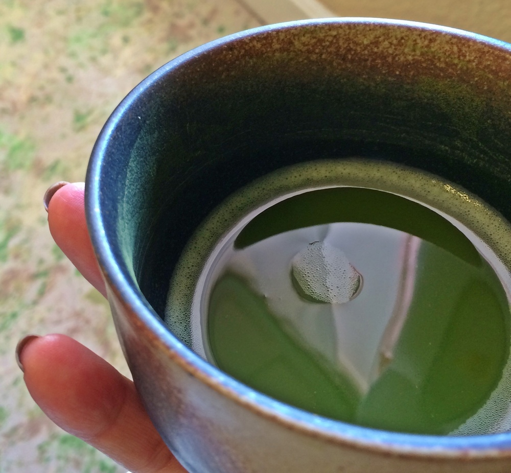 A tasty cup of matcha at Live Life Well Medicine.