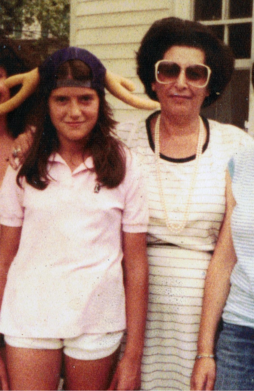 Aunt Violet of Baghdad.